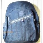 กระเป๋า notebook สะพายหลัง สีกรม KP003