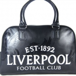กระเป๋าไป Gym กระเป๋ากีฬา กระเป๋าเดินทาง กระเป๋าถือ Liverpool สีดำ หนัง Pu กันน้ำ สินค้าลดราคา no 218674