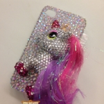 ID: A064 Case iPhone 4s/4 Crystal รุ่น My little pony horn size S