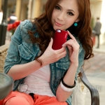 ID: A 107 CAPDASE Alumor Jacket Case iphone 5  