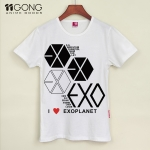 T-shirt EXO i love planet [white]
