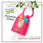 Bath & Body Works / PocketBac Holder (Shimmery Tropical Cocktail) *ไม่รวมเจลล้างมือ