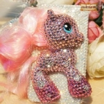 ID: A073 Case iPhone 4s crystal my little pony รุ่น 2 ขา Size S