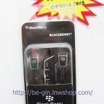 หูฟัง SmallTalk ของ BlackBerry แบบ Stereo Headset + ปุมปรับเปลี่ยนเพลงคะ