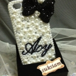 ID :A057  Case iPhone 5 4S/4  Pearl