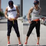 กางเกงผู้ชาย | กางเกงแฟชั่นผู้ชาย กางเกงวอร์มแฟชั่น แฟชั่นฮ่องกง