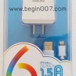 คุ้มสุดๆๆ! ชุดชาร์จi ARUN ไอโฟน 5+6 +Ipad (Input 1.5 A) ( ชุดชาร์จบ้าน 2 ชิ้น)