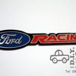 โลโก้อลูมิเนียม Ford Racing ตัวใหญ่