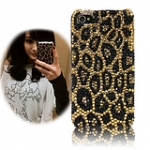 A009 case iphone 5   4s/4  Golden Leopard