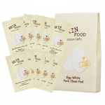 ==pre order==Skinfood Egg white pore clean pad