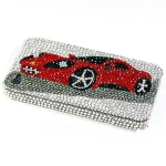 ID: A015 Case iPhone 5 crystal  4s  Ferrari Cuppe Case 