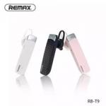 หูฟังบลูทูธ REMAX RB-T9 แท้ HD Voice Small talk (ฟังเพลง MP3 ได้ +เชื่อมต่อกับมือถือได้พร้อมๆกัน 2 เครื่อง)