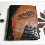 กระเป๋าสตางค์ Levis หนังแท้ ใบสั้น Le56081