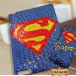 ID: A063 Case iPad 3 Crystal รุ่น Super Hero