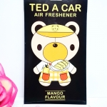 Ted A Car / Air Freshener (Mango)