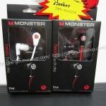 หูฟัง Monster Beats Tours (In Ear) สีขาว ดำ