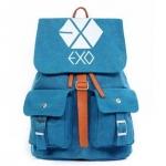 Preorder กระเป๋าเป้ EXO Blue [ผ้าแคนวาสหนา]