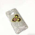 รับสั่งทำของขวัญปีใหม่ลูกค้า เคสมือถือสลักชื่อ Logo บริษัทแบรนด์สินค้า เคสคริสตัลไอโฟน 6s iPhone 6s Plus case สลักชื่อด้วยคริสตัลหรูฟรุ้งฟริ้ง ID: A341