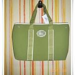 กระเป๋าถือ กระเป๋าสะพาย Lc สีเขียว ใบใหญ่