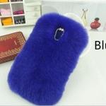 เคส Samsung galaxy note 3 n9000 เคสขนเฟอร์ ขนกระต่ายแท้ ขนนุ่มสุด ๆ สีน้ำเงิน เข้ม เท่ ๆ 10120_9