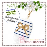 Bath & Body Works / PocketBac Holder (Sparkling Stripes & Bow) *ไม่รวมเจลล้างมือ