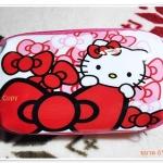 กระเป๋าใส่ดินสอ ใส่เงิน Kitty สีชมพู K002