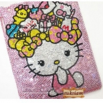 ID: A074 Case ipad 3 crystal รุ่น Hello Kitty