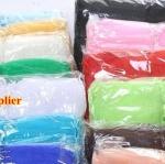 ถุงผ้าไหมแก้วใส่ผ้าห่ม ผ้าแพร ขนาด 20*30 cm สีทอง ชมพู ฟ้า ขาว 100 ใบ