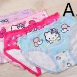 กางเกงในเด็ก Set ุ6 ตัว ลาย Hello Kitty มีระบายรอบตัว เนื้อผ้า Cotton no 34645_a3