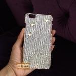 ของขวัญวันเกิดเคสไอโฟน 6 ชวารอฟสกี้แท้ แฟชั่นกรอบมือถือไฮโซ case iPhone 6 swarovski crystals : ID:A292