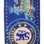 ผ้าขนหนู ผ้าเช็ดตัว ลายทีมฟุตบอล Chelsea สิงห์ฟ้า