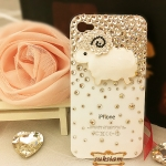 ID: A33 Crystal Swarovski Case iPhone 4S,  iPhone 5   Star Sheep
