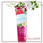 Bath & Body Works / Ultra Shea Body Cream 226 ml. (Bourbon Strawberry & Vanilla) *Limited Edition