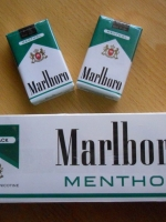 Marlboro Menthol (Made in U.S.A.) ซองอ่อน