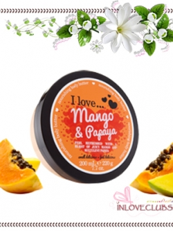 I Love... / Body Butter 200 ml. (Mango & Papaya)