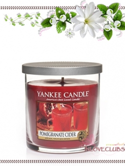 Yankee Candle / Small Tumbler Candle (single wick) 7 oz. (Pomegranate Cider)