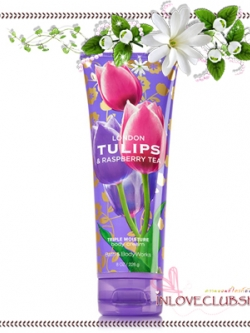 Bath & Body Works / Body Cream 226 ml. (London Tulips & Raspberry Tea) *Limited Edition 2014