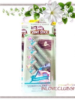 Yankee Candle / Car Vent Sticks (Island Getaways)
