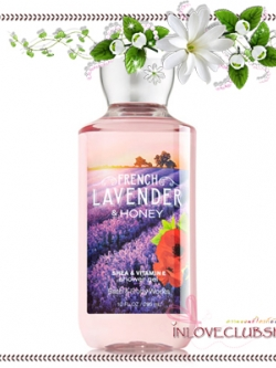 Bath & Body Works / Shower Gel 295 ml. (French Lavender & Honey)