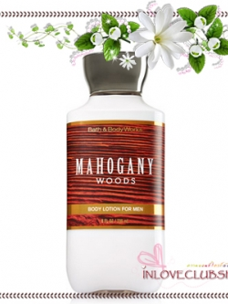 Bath & Body Works / Body Lotion 236 ml. (Mahogany Woods) *For Men
