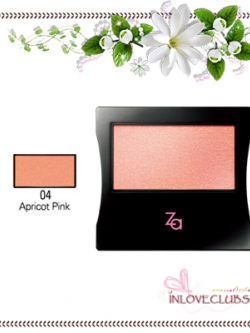 ZA / Cheeks Groovy (#04 Apricot Pink)