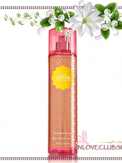 Bath & Body Works / Fragrance Mist 236 ml. (Tokyo Lotus & Apple Blossom) *Limited Edition