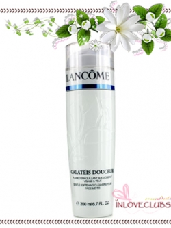 Lancome Galateis Douceur Gentle Softening Cleansing Fluid for Face & Eyes 200 ml. *ไม่มีกล่อง