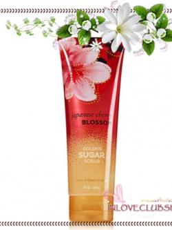 Bath & Body Works / Golden Sugar Scrub 226 g. (Japanese Cherry Blossom)