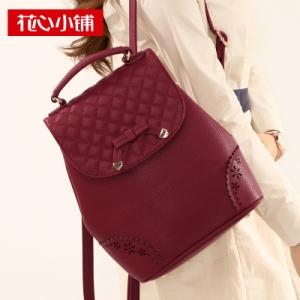 กระเป๋าเป้สะพาย สีไวน์แดง (Burgundy)-Axixi