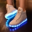 รองเท้า Simulation LED USB LED หุ้มข้อ thumbnail 2
