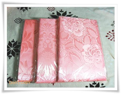 ผ้าแพรสีชมพู