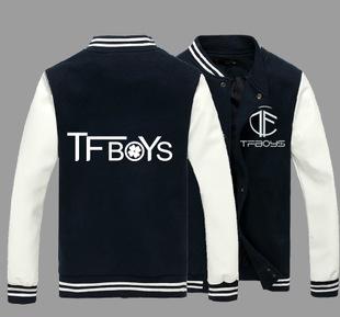 เสื้อเบสบอล Tfboys BQF043