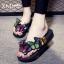 รองเท้าแฟชั่น รองเท้าแตะ รองเท้ามัฟฟิน Slippers female cake with a shaped outer wear high-heeled sandals wild thumbnail 1