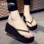 รองเท้าแฟชั่น รองเท้าแตะ รองเท้ามัฟฟิน พรีออเดอร์ thumbnail 1